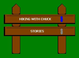 Navigation, Hiking Stories Page